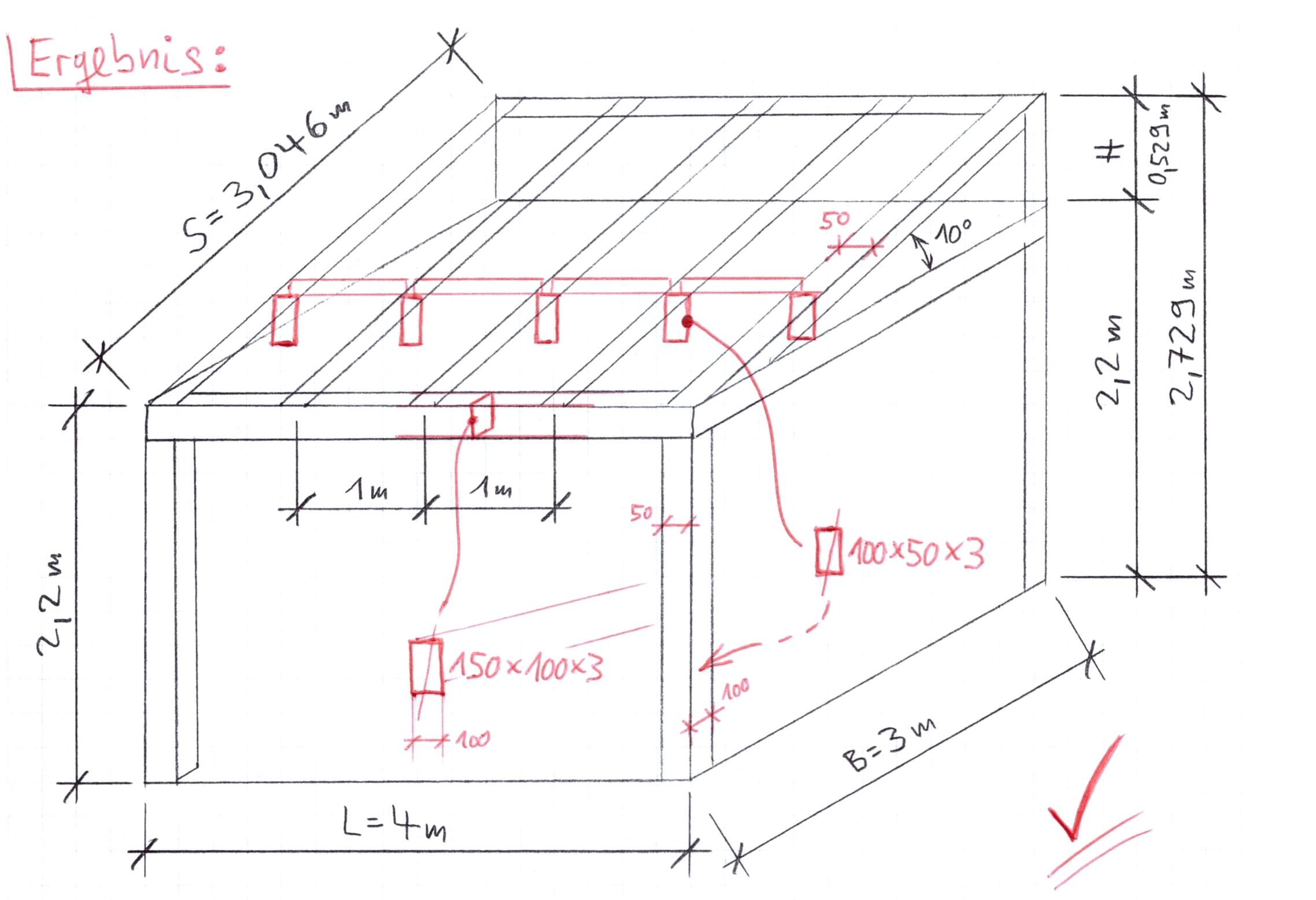 schneelast berechnen beispiel extremstelle berechnen. Black Bedroom Furniture Sets. Home Design Ideas